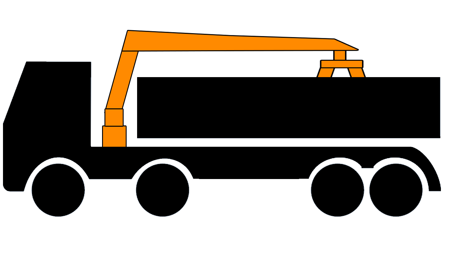 8 wheel grab lorry for hire in Birmingham